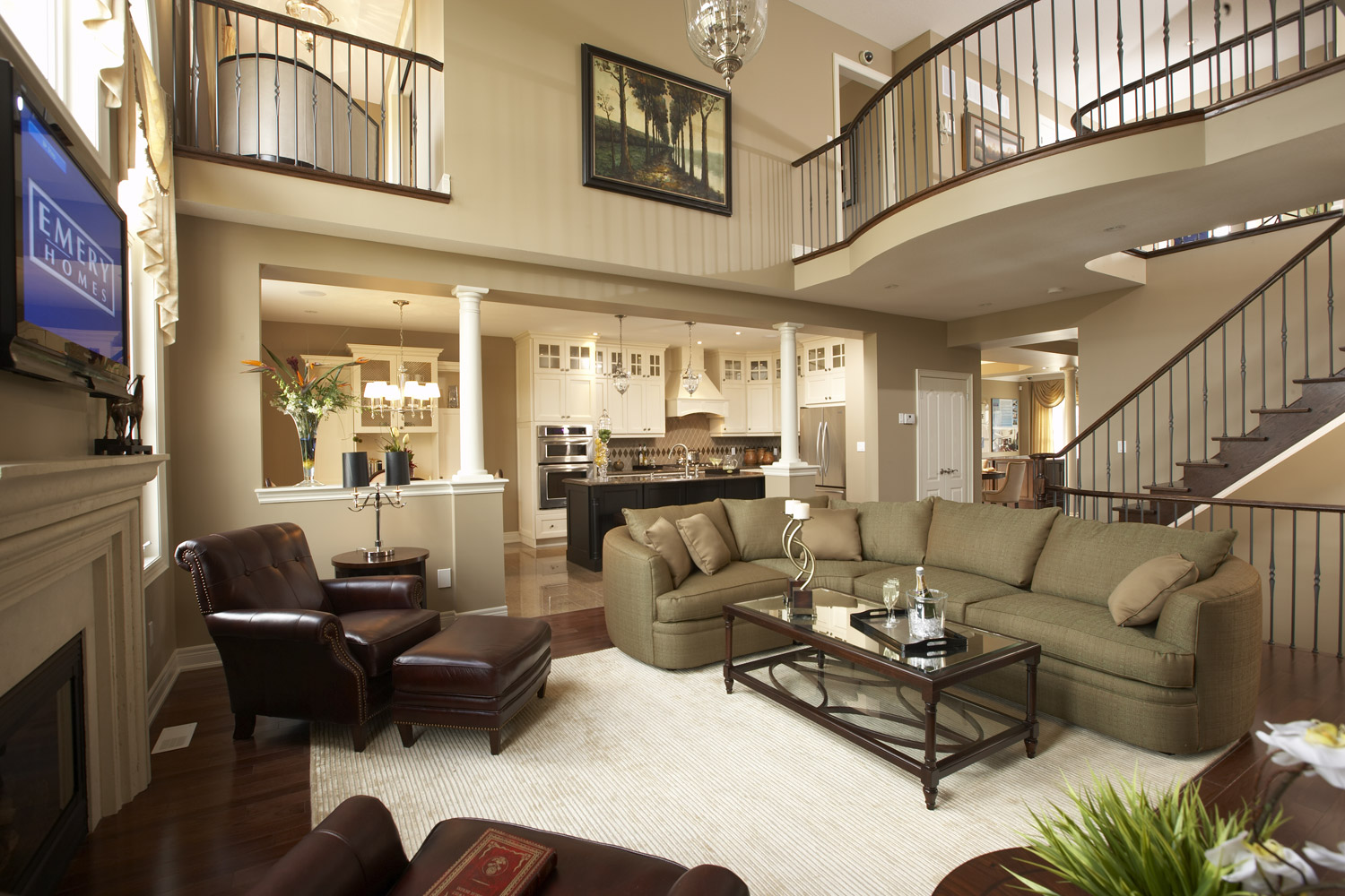 Why we like model homes for Interior design model homes pictures
