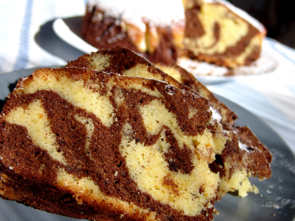 How Much Sugar Is In A Chocolate Marble Cake
